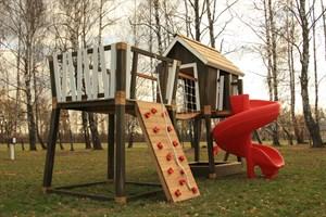 Детские площадки и комплексы премиум класса