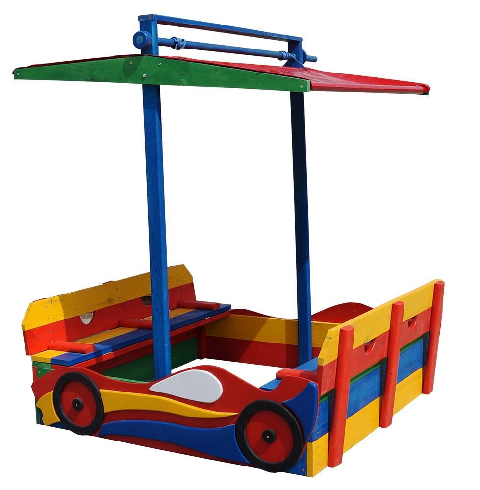 Как сделать детскую машинку на даче