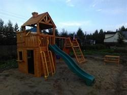 Детская игровая площадка Выше Всех Крепость - фото 10368