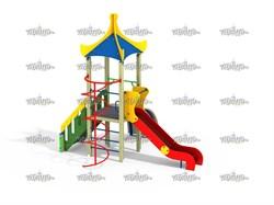 Детский игровой комплекс Лиана с лестницей Н=1200 - фото 10546