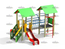 Детский игровой комплекс Веселый мостик Н=900 - фото 10550