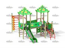 Детский игровой комплекс Райские птицы Н=700, 1200 - фото 10551