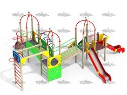 Детский игровой комплекс Топотушки со щитом Н=1200, 1500 - фото 10553
