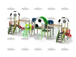 Детский игровой комплекс Футбол Н=1200, 1500 - фото 10556