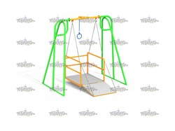 Качели платформа для коляски - фото 10562