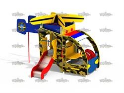 Военный вертолет - фото 10582