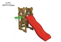 Детская горка FAMILY Медвежата F-773 - фото 11096