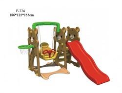 Детский игровой комплекс FAMILY Медвежата F-774 - фото 11097