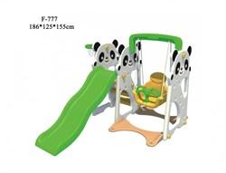 Детский игровой комплекс FAMILY Панды F-777 - фото 11100