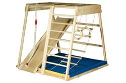 Детский спортивный комплекс (ДСК) Kidwood Домино (комплектация Оптима) - фото 11437