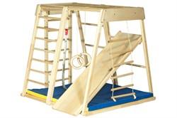 Детский спортивный комплекс (ДСК) Kidwood Ракета (комплектация Оптима) - фото 11439
