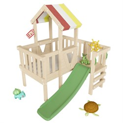 Детский игровой чердак для дома и дачи СКУБИ - фото 11460