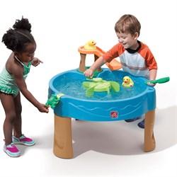 Столик для игр с водой Весёлые утята - фото 11531