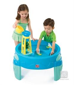 Столик для игр с водой с водяной мельницей - фото 11549