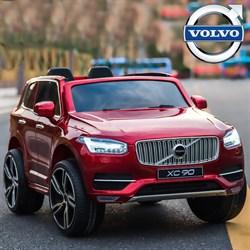 Электромобиль BARTY  VOLVO XC90 вишнёвый-глянец - фото 12431