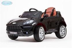 Электромобиль BARTY  М003МР (Porsche Macan) чёрный-глянец - фото 12564