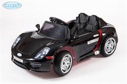 Электромобиль BARTY  М002Р (Porsche 918 Spyder) чёрный-глянец - фото 12598