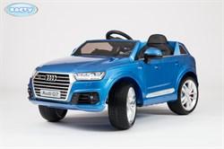 Электромобиль Audi Q7, Синий, Глянцевый - фото 12723