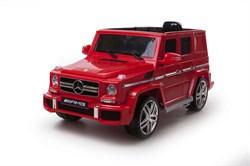 Электромобиль Mercedes G63, Вишня, Глянцевый - фото 12810