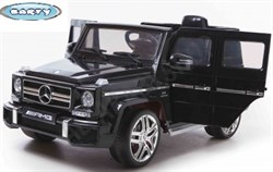 Электромобиль Mercedes G63, Чёрный, Глянцевый - фото 12821