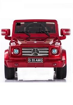 Электромобиль Mercedes G55 к/с, Вишня, Глянцевый - фото 12827
