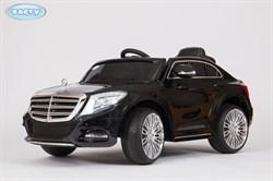 Электромобиль Mercedes S600, Чёрный, Глянцевый - фото 12841