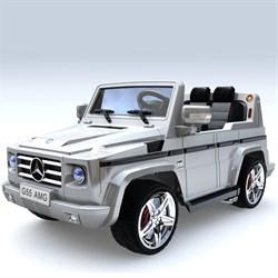 Электромобиль Mercedes G55, Серебро, Глянцевый - фото 12905