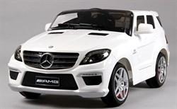 Электромобиль Mercedes ML63, Белый, Глянцевый - фото 12926