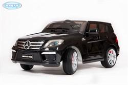 Электромобиль Mercedes ML63, Чёрный, Глянцевый - фото 12950