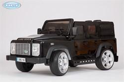 Электромобиль Land Rover Defender, Чёрный, Глянцевый - фото 12979