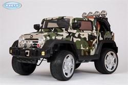 Электромобиль Jeep Wrangler, Камуфляж,  Глянцевый - фото 13011