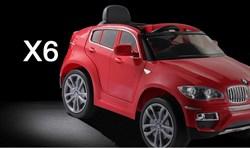 Электромобиль BMW X6, Красный, Обычный - фото 13044