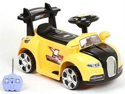 Электромобиль ZP-V001 Bugatti, Жёлтый, Обычный - фото 13138