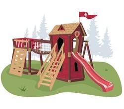 Игровой комплекс для детей Junior Red Castle - фото 13352