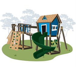 Игровой комплекс для детей Double Junior - фото 13355