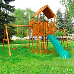 Детские городки Jungle Palace + Swing X'tra + рукоход - фото 13777