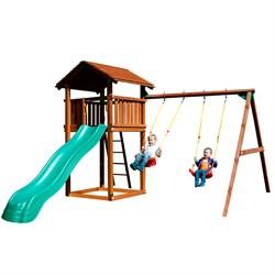 Детские городки Jungle Cottage+SwingModule Xtra - фото 13783
