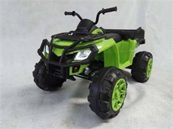 Электроквадроцикл BARTY Т009МР зеленый - фото 13818