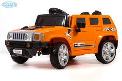 Электромобиль BARTY М333МР Hummer (HL 1658) оранжевый - фото 13875