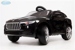 Электромобиль BARTY T005MP (Maserati Levante) черный глянец - фото 13936