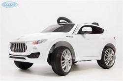Электромобиль BARTY T005MP (Maserati Levante) белый глянец - фото 13954