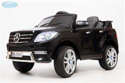 Электромобиль BARTY Mercedes-Benz ML350 черный глянец - фото 13992