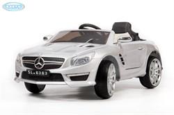 Электромобиль BARTY Mercedes-Benz  SL63 AMG СЕРЕБРО -глянец  - фото 14033