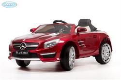 Электромобиль BARTY Mercedes-Benz SL63 AMG БОРДОВЫЙ-глянец - фото 14055