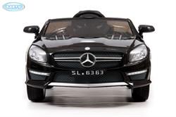 Электромобиль BARTY Mercedes-Benz SL63 AMG Чёрный-глянец - фото 14070