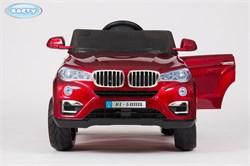 Электромобиль BARTY BMW X5 VIP, (KL-5188A) Бордовый, Глянцевый  - фото 14534