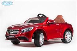 Электромобиль BARTY Mercedes-Benz S63 AMG (HL-169) Вишня, глянцевый - фото 15305