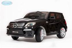 Электромобиль BARTY Mercedes-Benz ML63 AMG (DMD-168) черный глянцевый - фото 15339