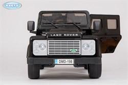 Электромобиль BARTY Land Rover Defender (DMD-198) черный глянцевый - фото 15357