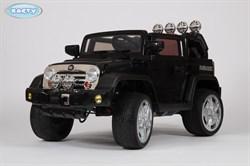Электромобиль BARTY Jeep Wrangler (JJ-JJ235) черный глянцевый - фото 15400